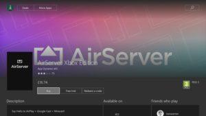airserver on xbox 360