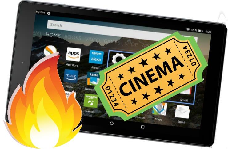 Install Cinema HD APK on Kindle Fire Plus Tablet (All Gen)