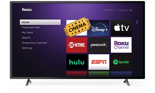 Install Cinema HD APK on Roku Stick In Less Than 2 Minutes