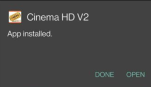 cinemahd on android