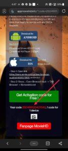 movie hd apk activation code
